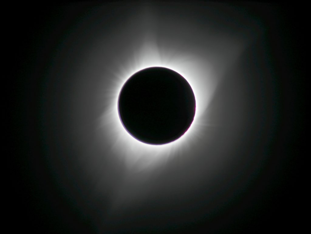 2017 Total Solar Eclipse - Sun's Corona