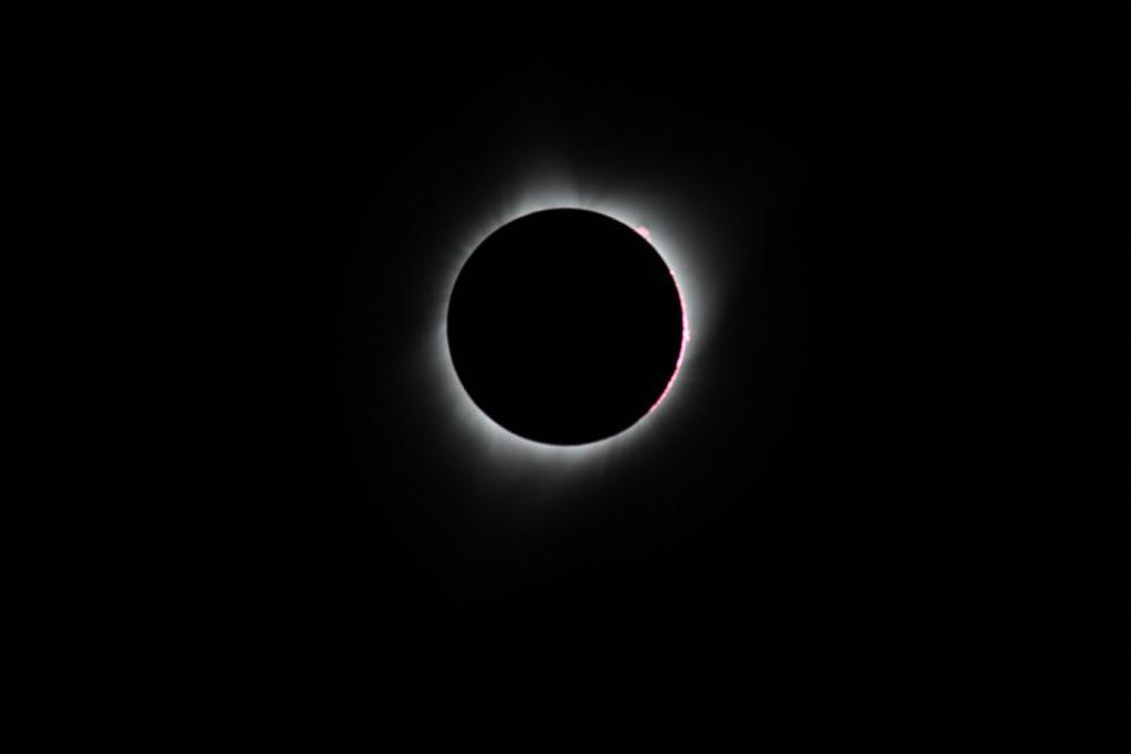 2017 Total Solar Eclipse - Prominences
